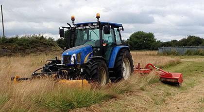 Flail Mowing