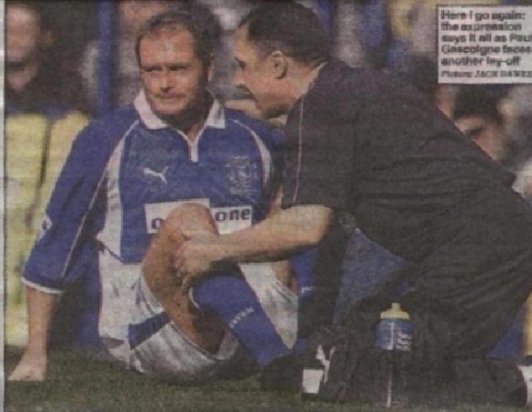 Rob Ryles - Everton Physiotherapist