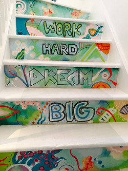 girlie staircase
