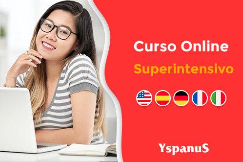 superintensivo de inglês espanhol alemão italiano online