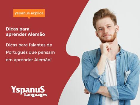 Dicas para falantes do Português que pensam em aprender o Alemão