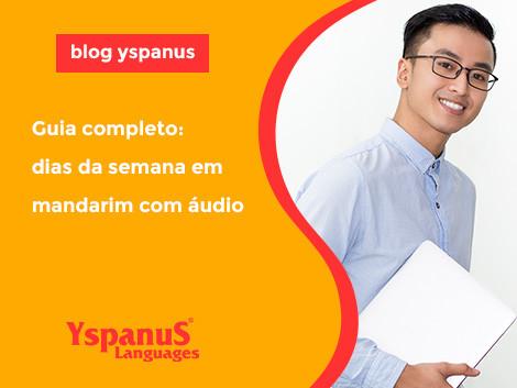 Guia completo: dias da semana em mandarim com áudio