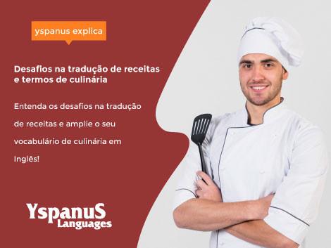Desafios na tradução de receitas e termos de culinária