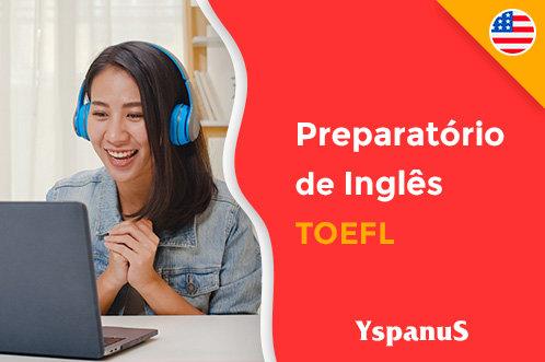 curso preparatório de inglês online toefl