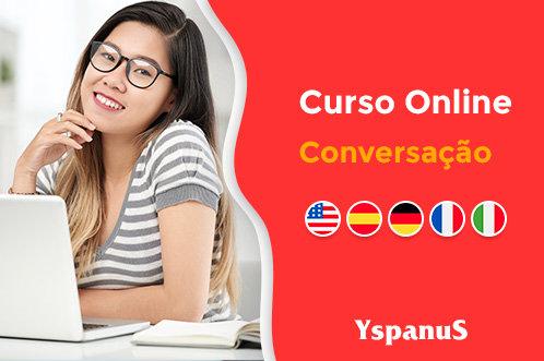 conversação de inglês espanhol alemão italiano online