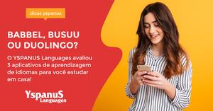 Avaliação dos aplicativos Babbel, Busuu e Duolingo