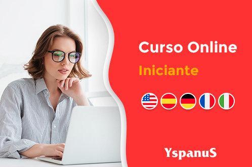 curso de inglês espanhol alemão italiano francês iniciante online