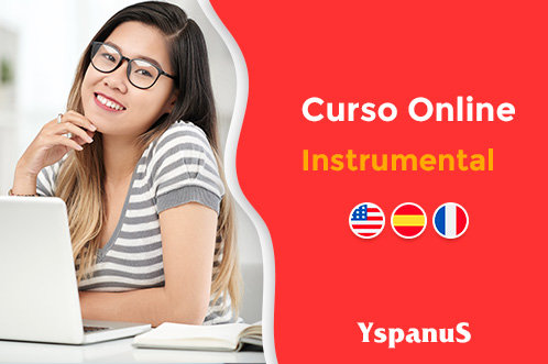 curso instrumental de inglês espanhol francês online