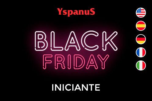 black friday curso intensivo online de inglês, espanhol, alemão, francês e italiano