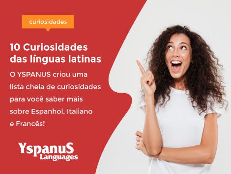 10 curiosidades das línguas latinas