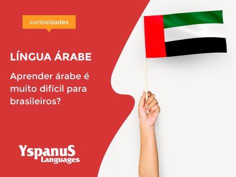 Aprender árabe é difícil para um lusófono?