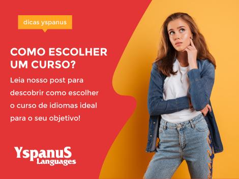 Como escolher um curso de idiomas?
