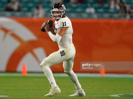 CBS has the Steelers Selecting Quarterback Kellen Mond in the Second Round of the 2021 Draft