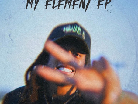 Terrell Edmunds is releasing a new Rap EP called My Element