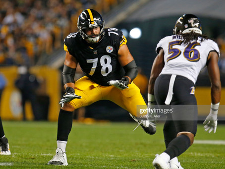 The Ravens signing Alejandro Villanueva was a Blessing in Disguise for the Pittsburgh Steelers