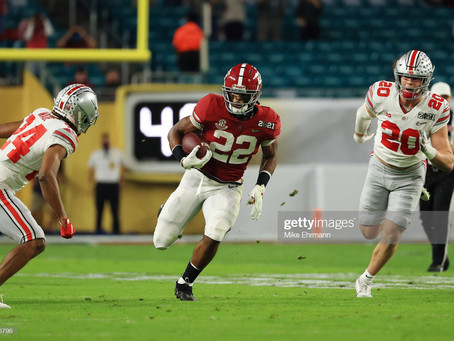 The Steelers sound serious about drafting Najee Harris if he falls to them in the 2021 NFL draft