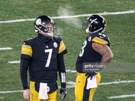 With Pouncey retiring, you have to wonder if Roethlisberger will return for an 18th season
