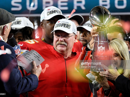 Andy Reid tried to recruit JuJu Smith-Schuster by sending Lombardi pictures to him in the offseason