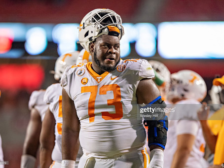 Trey Smith, OL, Tennessee - 2021 NFL Draft Player Profile