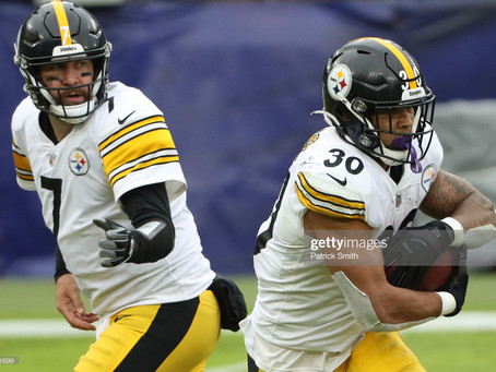 """James Conner: """"It would be hard for me to leave Pittsburgh in Free Agency"""""""
