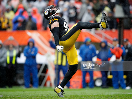 The NFL better not Snub TJ Watt of the Defensive Player of the Year Award for the 2020 Season
