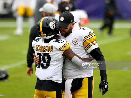 Ben Roethlisberger is taking his Young Wide Receivers under his wing into the Playoffs