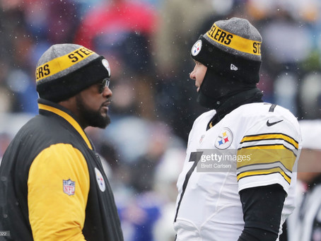 How can the Steelers stay at the Top of the AFC North?