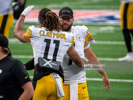 PFF says Big Ben needs to be more 'aggressive downfield' and let Chase Claypool become a 'star'