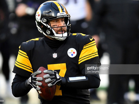 Ben Roethlisberger was in the shotgun on 573 of his 608 passes last season