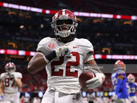 The Steelers need to take RB Najee Harris in the First Round of the 2021 NFL Draft