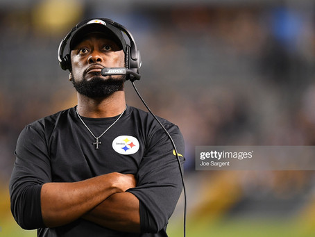 Mike Tomlin was diagnosed with COVID-19 and is away from the team facility