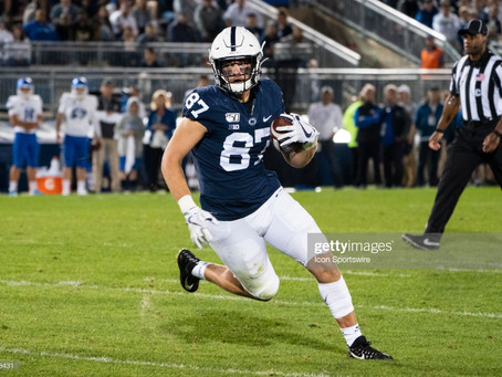 Penn State TE Pat Freiermuth will be a Dark Horse in the 2021 NFL Draft
