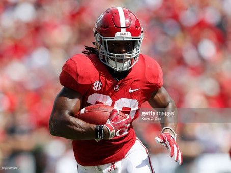 Pro Football Focus ranks Najee Harris as the No. 1 RB for fantasy football in 2021