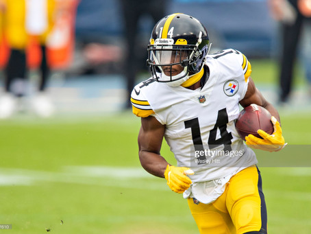 JuJu Smith-Schuster said his Replacement in the Slot Position will be Ray-Ray McCloud
