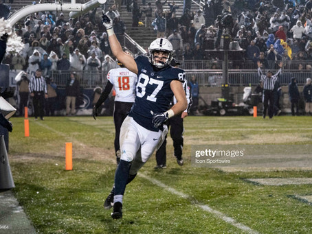 Pat Freiermuth is now the Steeler's highest-drafted tight end since Heath Miller in 2005