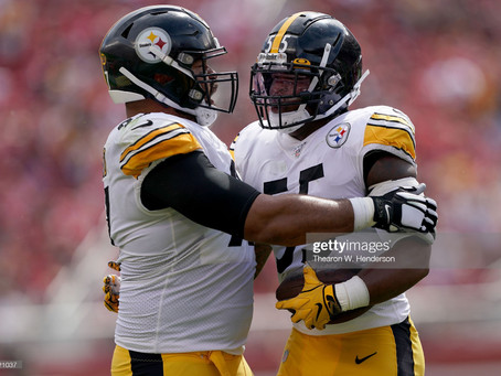 Cam Heyward sent out a tweet telling Devin Bush to 'Calm his ass down' yesterday on Twitter