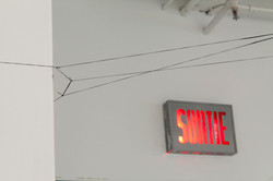 Sound installation / magnetic tape