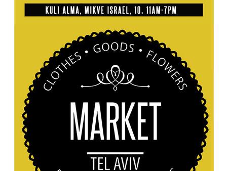 MARKET.TLV on March, 16. Kuli Alma.