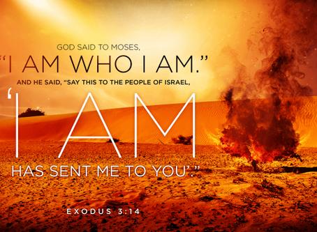 God Sent - Isaiah 6:8, John 1:6, Exodus 3:14