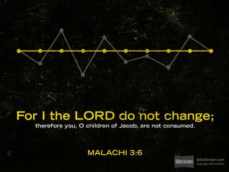 The Immutable - Malachi 3:6