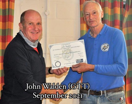John Walden GTT