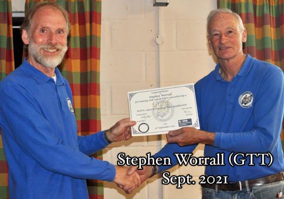 Stephen Worrall GTT