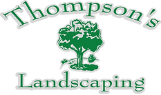 Thompsons Landscaping logo grayoutline.p