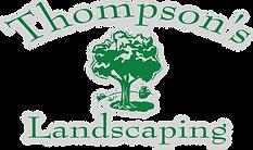 Thompsons Landscaping logo grayoutline.p
