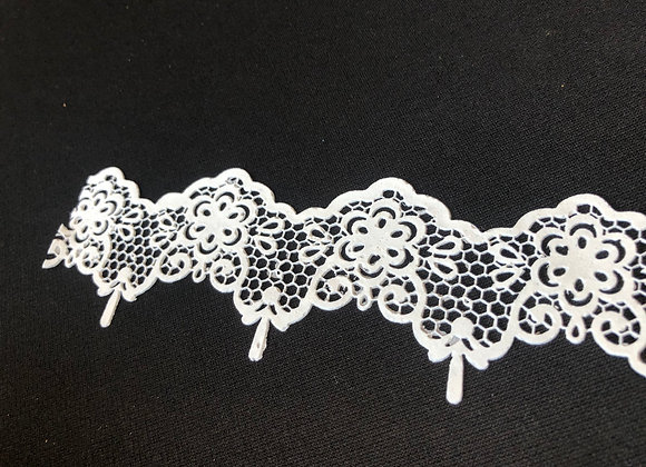 French Lace - EF84 Color BLANCO