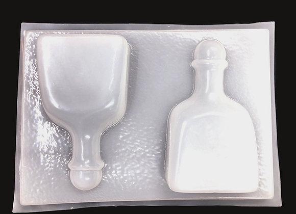 Botellas Medianas de Tequila Patron (2)