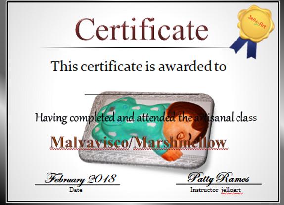 Malvavisco -Marshmelow