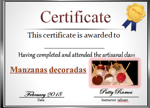 Manzanas Decoradas