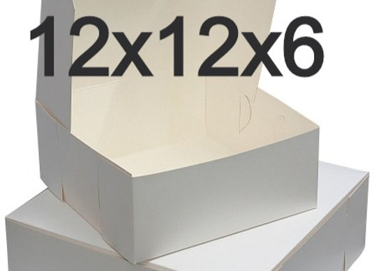 Caja Para Pastel 12 x 12 x 5 - Cake Box 12 x 12 x 5