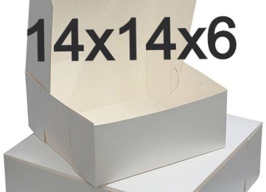 Caja Para Pastel 14 x 14 x 6 - Cake Box 14 x 14 x 6